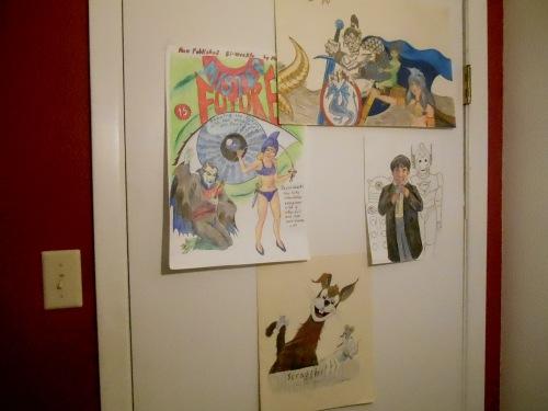 Pictures on the Door