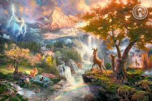 kinkade-2010-bambis-first-year-1st-art-disney-thomas