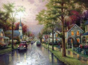 thomas-kinkade-hometown-morning-19676