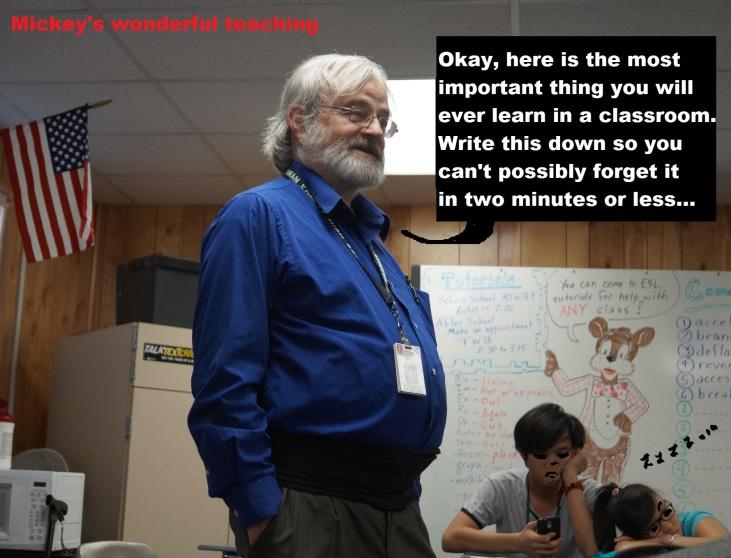 wonderful teaching