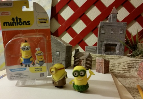 Minions are another form of Stooge... and I now have Kevin, Bob, and Stuart.