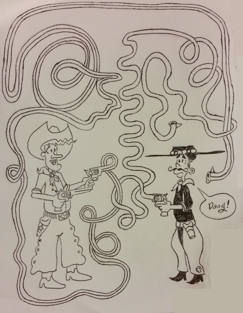 rubber gun duel