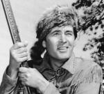 Fess Parker as Davy Crockett, and then as Daniel Boone