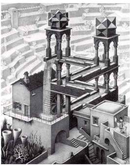 M.C. Escher's faulty physics.