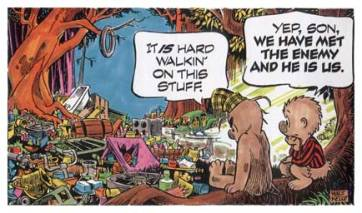 Walt Kelly's Earth Day comic