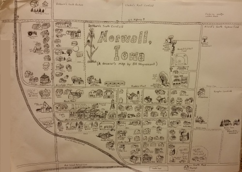 Norwall map