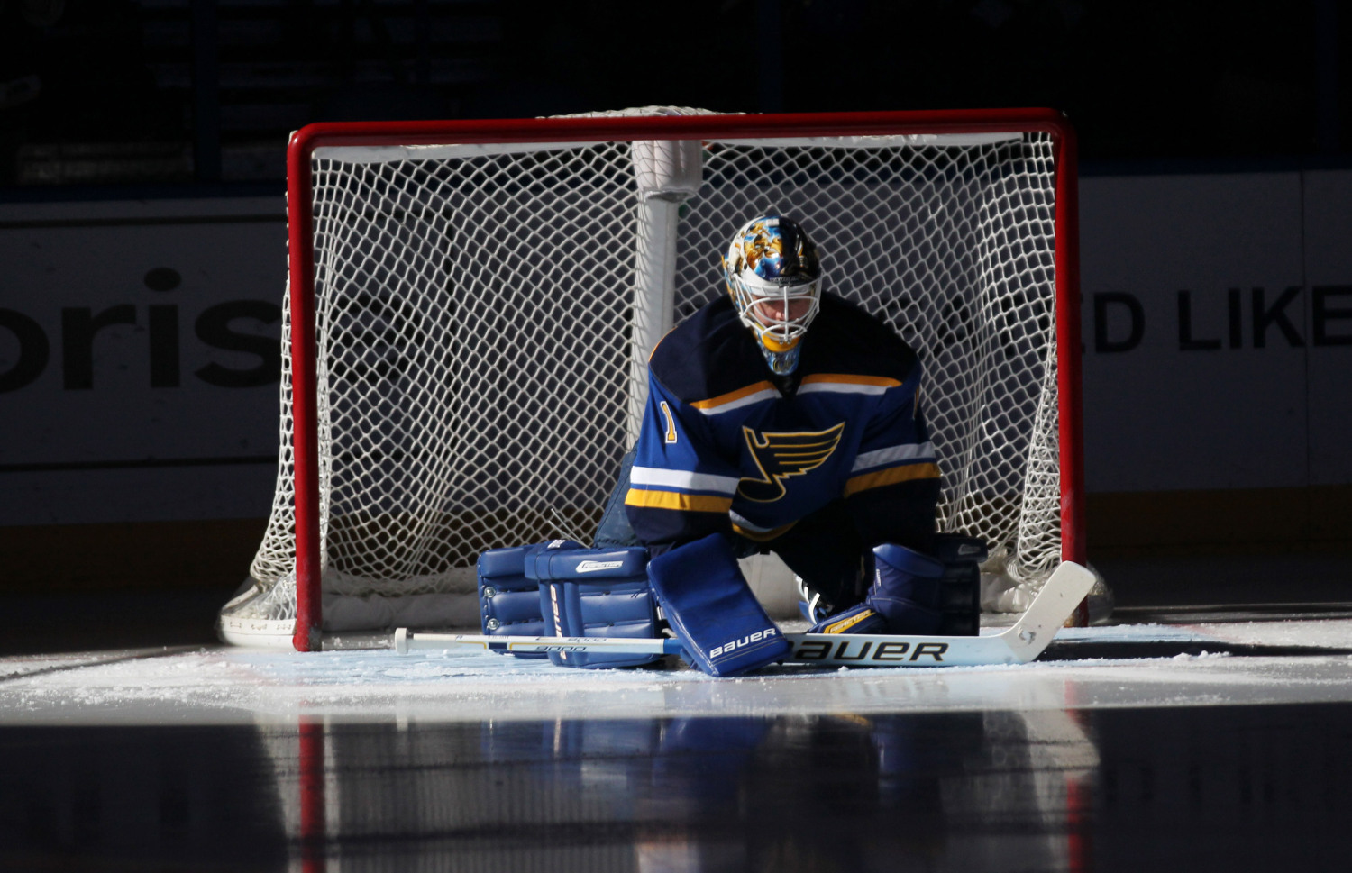 St. Louis Blues goaltender Brian Elliott