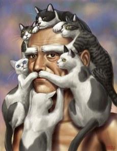 cat-beard-art-drawing