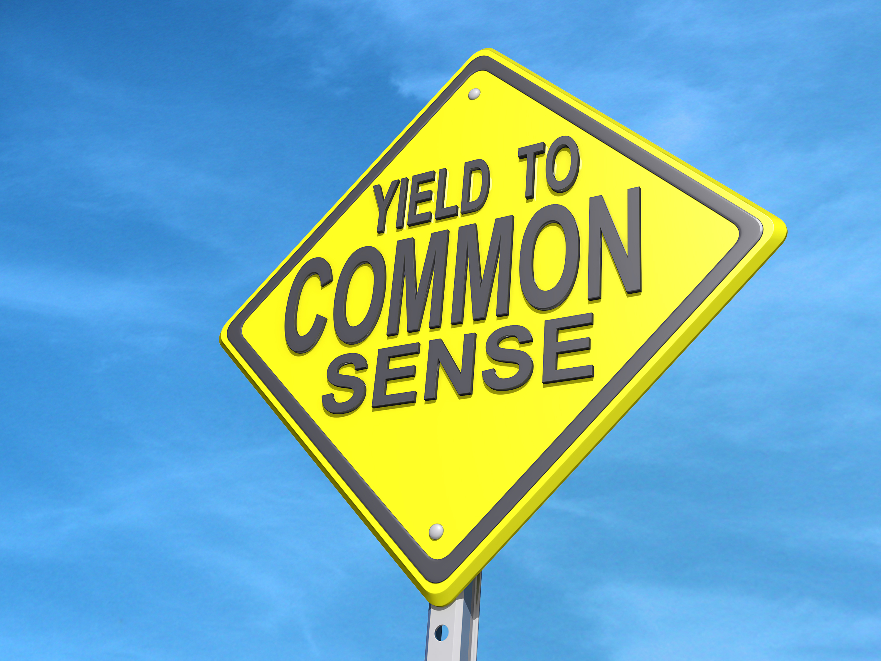 Common-Sense yield