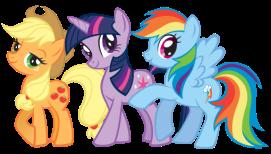 applejack_twilight_sparkle_and_rainbow_dash