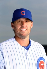 Feb 29, 2016; Mesa, AZ, USA; Chicago Cubs pitcher John Lackey poses for a portrait during photo day at Sloan Park. Mandatory Credit: Mark J. Rebilas-USA TODAY Sports