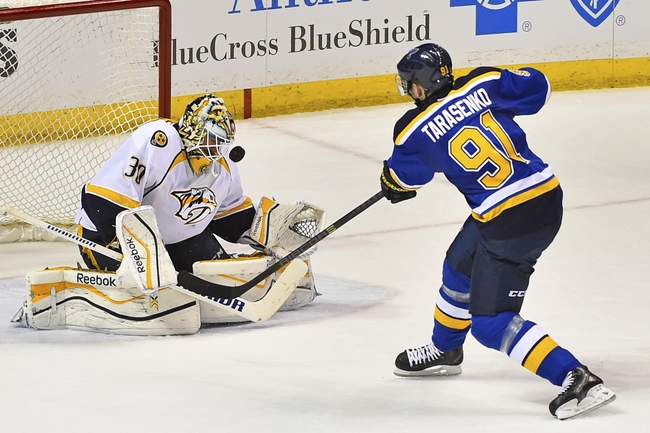 NHL: Nashville Predators at St. Louis Blues