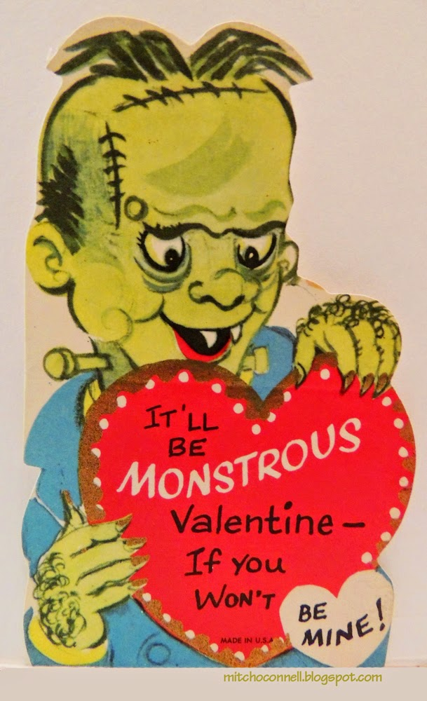 Strange And Unintentionally Funny Vintage Valentine S Day Cards 1