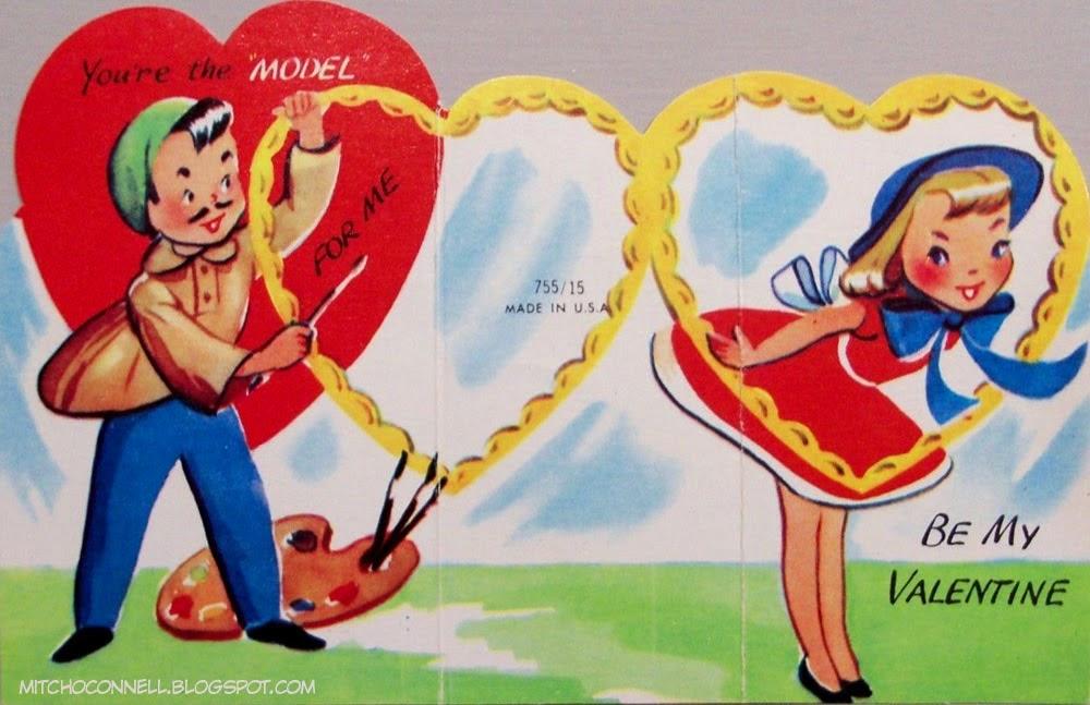 Unintentionally Hilarious Vintage Valentine\u0027s Day Cards (1