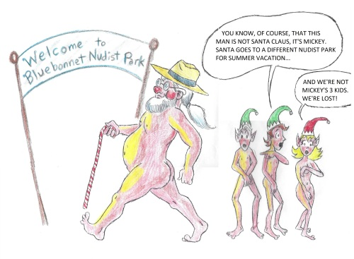 nude santa 1