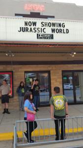 The Lyric Theater on Main Street, Belmond, Iowa